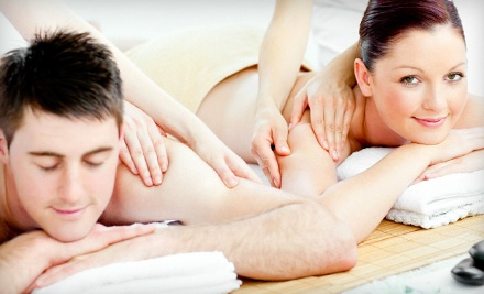 2-Hour massage Escape Package for One (a $220 value) - Azzuro'Terra Laser Spa & Hair Salon in Canmore