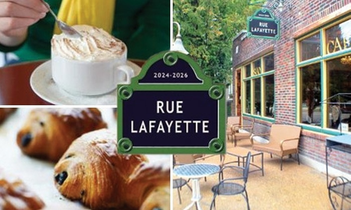 Rue Lafayette Café - Lafayette Square: $5 for $15 Worth of European-Inspired Café Fare from Rue Lafayette Café
