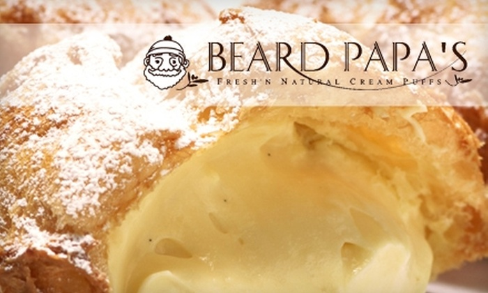 Beard Papa's - Multiple Locations: $11 for $22 Worth of Baked Goods at Beard Papa's