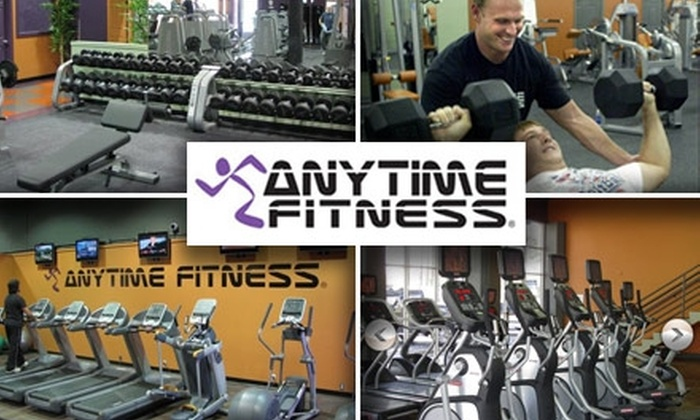 Anytime Fitness - Spokane: $14 for One Month of 24/7 Gym Access, Four Fitness Classes, and One Personal Training Session at Anytime Fitness ($100 Value)