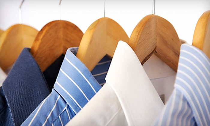 Express Cleaners - Multiple Locations: $20 for $50 Worth of Dry Cleaning, Tailoring, and Garment Services at Express Cleaners