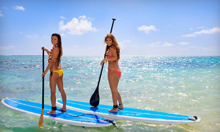 Jetty Betty Surf School - North Shore: $99 for Standup Paddleboarding River Tour for Two from Jetty Betty Surf School ($300 Value)