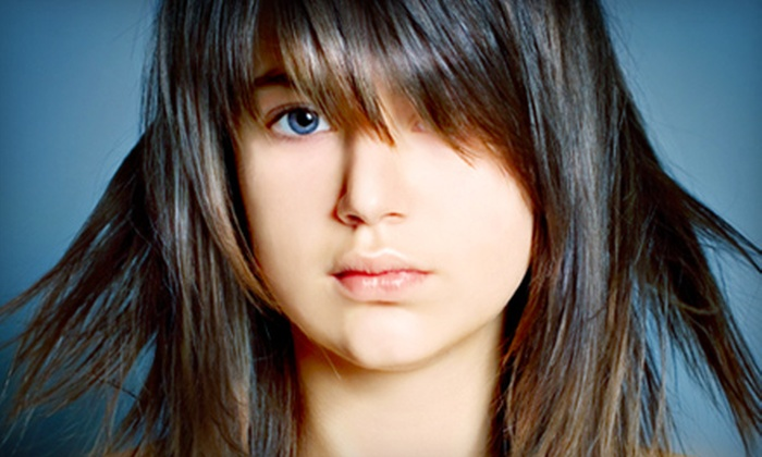 Ossia Salon and Spa - Kitchener - Waterloo: Haircut Package or Haircut Package with Highlights at Ossia Salon and Spa