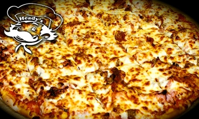 Heady's Pizza - Evansville: $6 for $15 Worth of Pizza, Pasta, Subs and More at Heady's Pizza