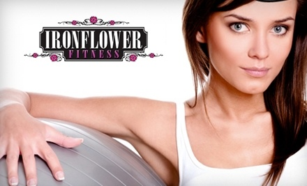 IronFlower Fitness: 6-Week Pole Dancing Session and 1 Month of Unlimited Group Fitness Classes - Ironflower Fitness in Miami