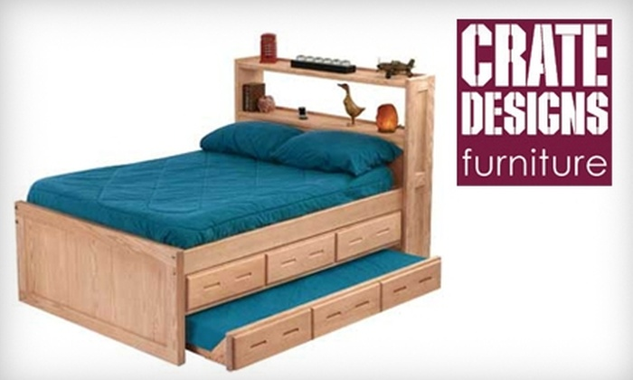 Crate Designs - Multiple Locations: $50 for $200 Worth of Furniture from Crate Designs