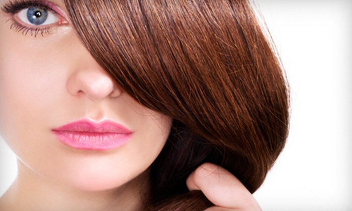 Elements Salon Spa Retreat - St. John: Keratin Treatment with Optional Cut and Style at Elements Salon Spa Retreat in Dyer (Up to 75% Off)