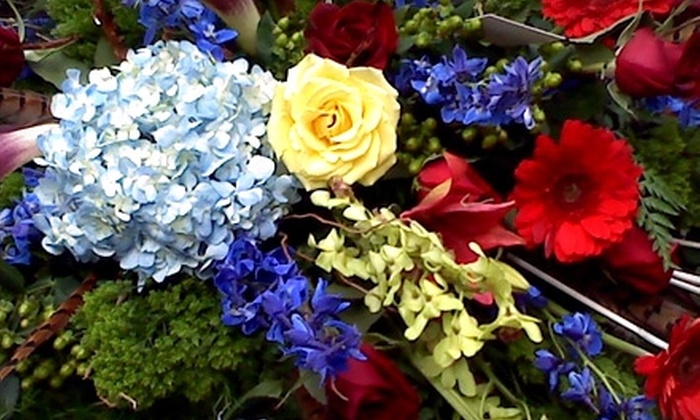 Charleston Florist - Downtown: $20 for $40 Worth of Flower Arrangements at Charleston Florist