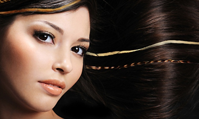 Fantastic Sams - Multiple Locations: Facial-Waxing Services or Hair-Styling or Feather-Extension Packages at Fantastic Sams (Up to 66% Off)