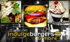 Indulge Burgers - Central Scottsdale: $15 for $30 Worth of Build-Your-Own Burgers and Drinks at Indulge Burgers & More