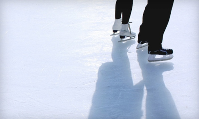 Homewood-Flossmoor Ice Arena - Flossmoor: Ice-Skating Outing for Two, Four, or Six at Homewood-Flossmoor Ice Arena (Up to 54% Off)