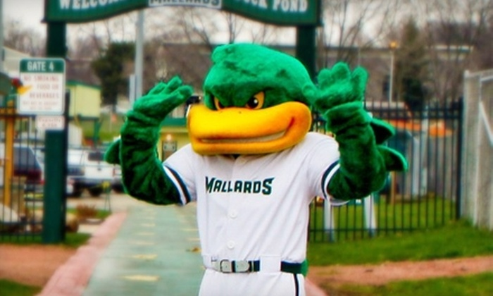 Madison Mallards - Sherman: $25 for Two Tickets and Two Team Hats at a Madison Mallards Baseball Game on Wednesday, June 8 at 7:05 p.m. at Warner Park ($50 Value)