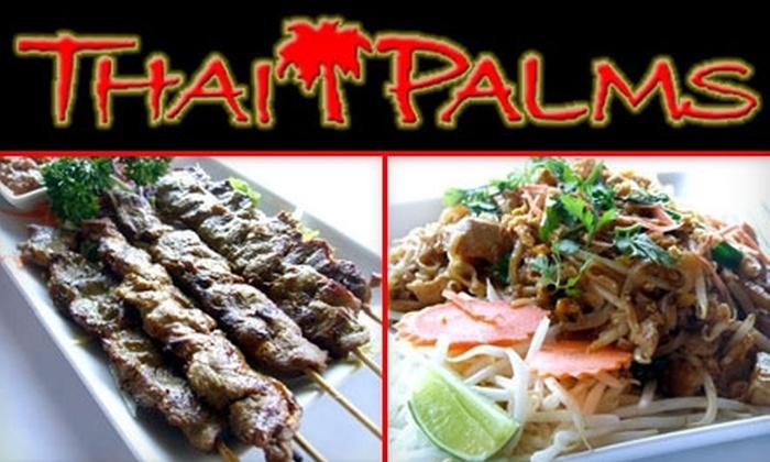 Thai Palms Restaurant & Bar - Bullard: $15 for $30 Worth of Dining and Drinks at Thai Palms Restaurant & Bar