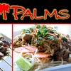 Half Off Dining at Thai Palms Restaurant & Bar