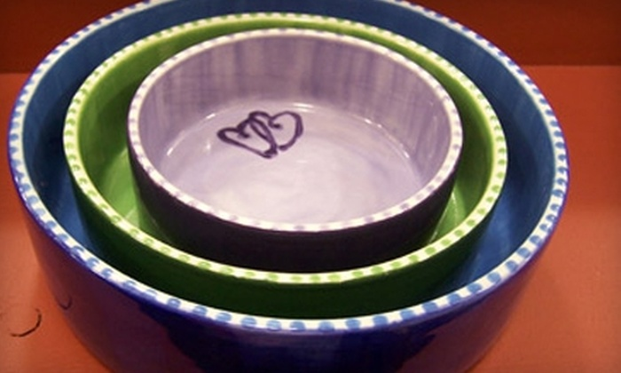 Piece of Mine - Grand Ledge: $10 for $20 Worth of Self-Painted Ceramics from Piece of Mine