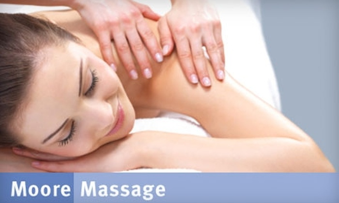 Moore Massage - Multiple Locations: $50 for a One-Hour Massage at Moore Massage