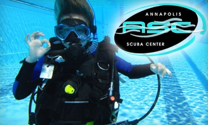 Annapolis Scuba Center - Parole: $35 for a PADI Discover Scuba Diving Course at Annapolis Scuba Center ($135 Value)