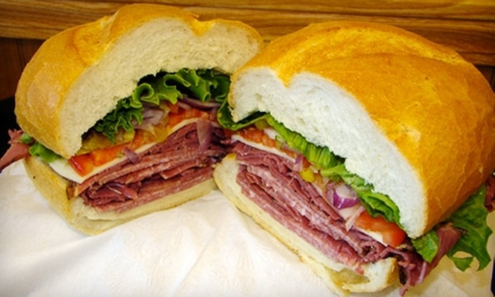 Leger's Sandwiches - Park City: $8 for Two Whole Gourmet Sandwiches at Leger's Sandwiches in Park City (Up to $19.94 Value)