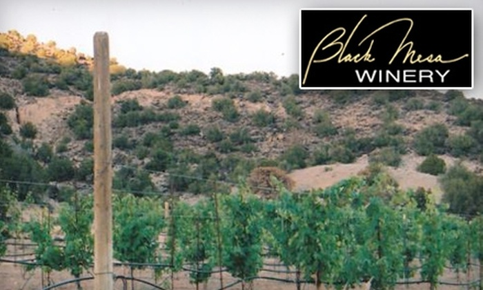 Black Mesa Winery - South Rio Arriba: $22 Toward a Wine and Cheese Tasting for Two, Plus $20 Toward Your Choice of a Bottle of Wine at Black Mesa Winery in Verlarde