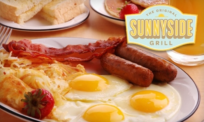 Sunnyside Grill - Clarkson: $10 for $20 Worth of Breakfast Fare at Sunnyside Grill in Oakville