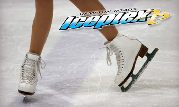 Hampton Roads IcePlex - 2: $9 for Admission and Skate Rental for Two at Hampton Roads IcePlex