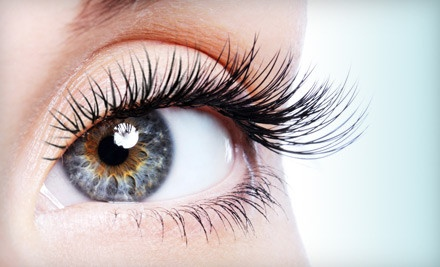 Partial Set of Eyelash Extensions (a $150 value) - 3D Nail Design & Lashes in Houston