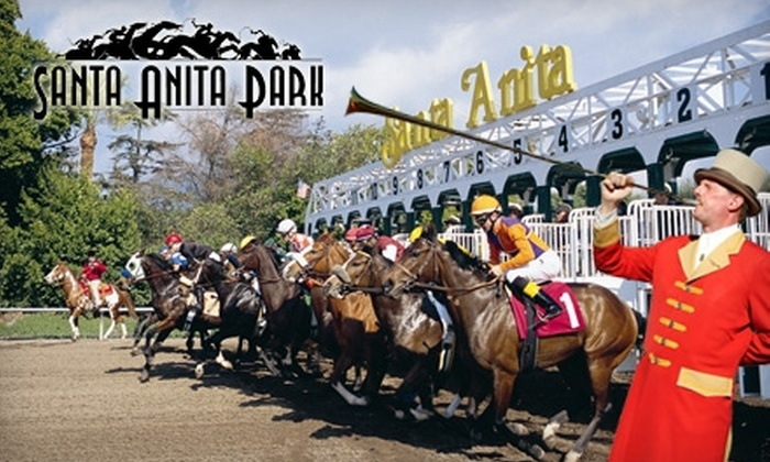Santa Anita Park - Arcadia: $9 for Club House Admission, a Box Seat, and Race Program at Santa Anita Park ($18.25 Value)