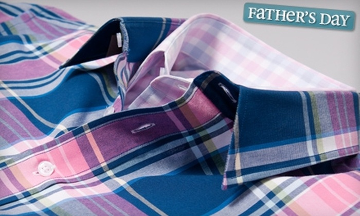 Modasuite: $35 for $90 Worth of Custom Menswear from Modasuite Online