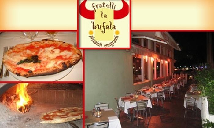 Fratelli La Bufala  - South Pointe: $15 for $35 Worth of Italian Cuisine at Fratelli La Bufala