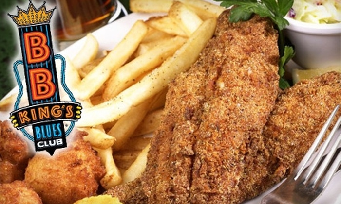 BB King's Blues Club - Southwest Orange: $19 for $40 Worth of Southern-Style Fare and Drinks at B.B. King's Blues Club