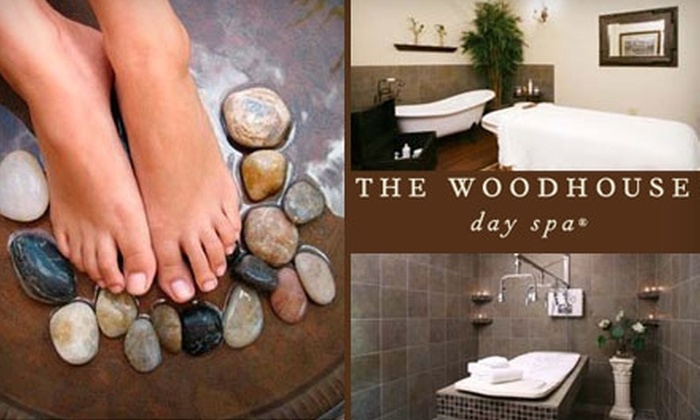 The Woodhouse Day Spa - Franklin: $60 for a Minkyti Facial or an 80-Minute Swedish Massage, Plus a $15 Gift Card, at The Woodhouse Day Spa (Up to $150 Value)