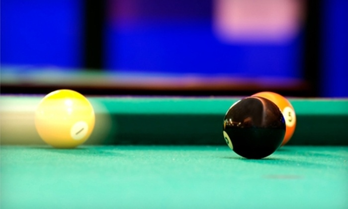Belltown Billiards & Lounge - Belltown: $49 for a Catered Billiards Party for Up to 10 People ($110 Value) or $119 for a Catered Billiards Party for Up to 40 People ($350 Value) at Belltown Billiards & Lounge