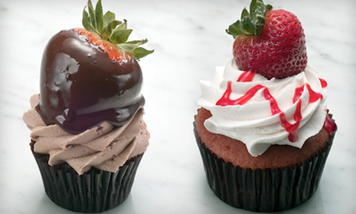 Divine Delicacies Custom Cakes - University Park: $15 for One Dozen Cupcakes at Divine Delicacies Custom Cakes ($30 Value)
