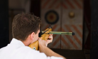 image for 90-Minute Crossbow Lesson for Up to Three from Target Sports World (16% Off)