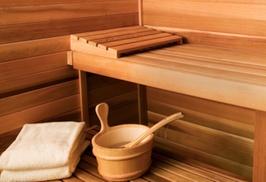 elzenhof: Hele dag toegang tot wellness met drankje en hapje, optioneel met massage, voor 1 of 2 personen bij Saunacenter Elzenhof