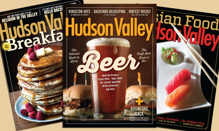 "Hudson Valley Magazine: One- or Two-Year Subscription to ""Hudson Valley"" Magazine (Up to 53% Off)"