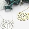 Up to 62% Off Handmade Monogram Necklaces