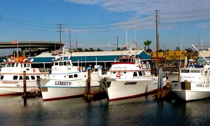 South Bay Cruises - Long Beach: Fishing Trip for One or Two from South Bay Cruises (Up to 42% Off). Four Options Available.