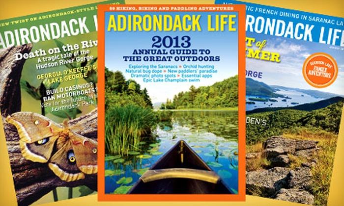 "Adirondack Life Magazine: $12 for a One-Year Subscription to ""Adirondack Life Magazine"" ($24.95 Value)"