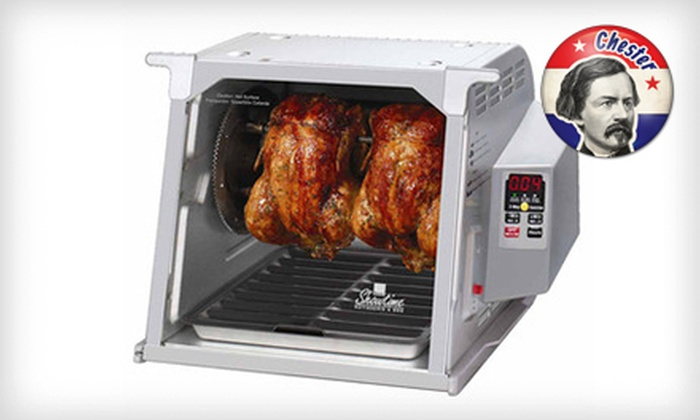 Ronco Rotisserie and Barbecue Oven: $119 for a Ronco Digital Showtime Rotisserie and Barbecue Oven ($179.99 List Price). Free Shipping. Free Returns.