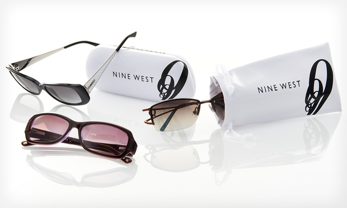 Nine West Women's Sunglasses: $24.99 for One Pair of Nine West Women's Sunglasses ($135 List Price). 28 Styles Available. Free Shipping and Returns.