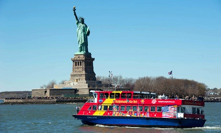 Admission to Wax Attraction, Harbor Cruise, and Empire State Building from CitySights NY (Up to $49 Off)