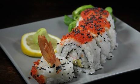 30 o 60 piezas de sushi con entrante y botella de vino desde 24,95 € en Akira
