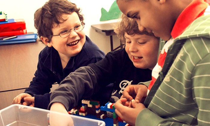 Big Apple Education - Multiple Locations: Lego Civics & Tech or Chinese Immersion Course at Big Apple Education (50% Off). Two Age Groups Available.