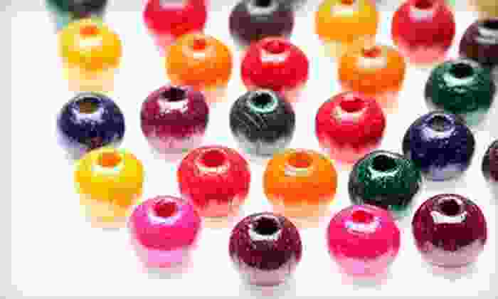 1960 Beads - Houston: Beading Class for One, Two, or Four at 1960 Beads (Up to 60% Off)