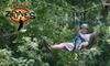 Carolina Ziplines Canopy Tour - Quaker Gap: $40 for a Two-Hour High-Course Zipline Tour from Carolina Ziplines Canopy Tour (Up to $80 Value)