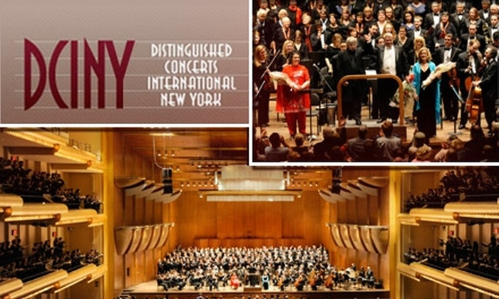 "DCINY - Upper West Side: $9 for One Ticket to ""From Sea to Shining Sea"" on Sunday, March 21, at 2 p.m. at Avery Fisher Hall in Lincoln Center. Buy Here for Side-Orchestra Seats ($20 Value). See Below for Other Seating Options."
