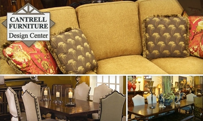 Cantrell Furniture Design Center - Midtown: $25 for $100 Worth of Furniture and Home Decorations at Cantrell Furniture Design Center