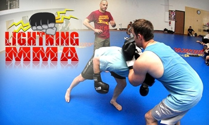 Lightning MMA - Laguna Hills: $30 for a Month of Introductory Mixed Martial Arts Training Classes at Lightning MMA ($175 Value)