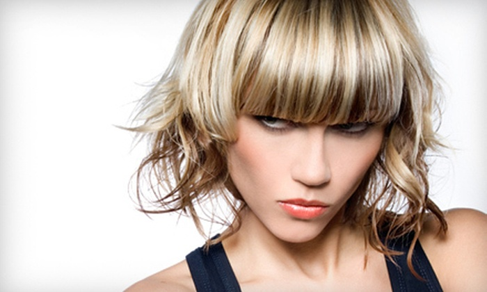 Kasey Hight at Visual Effects Salon and Spa - Desi Hughes : Haircut Package with Partial or Full Highlights from Kasey Hight at Visual Effects Salon and Spa (Up to 57% Off)